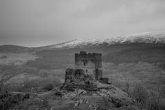 Dolwyddelan castle North Wales, UK Royalty Free Stock Photography