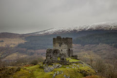 Dolwyddelan castle North Wales, UK Stock Images