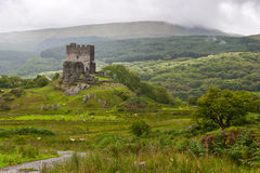 Dolwyddelan  castle in Snowdonia Royalty Free Stock Photography