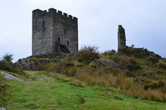 Dolwyddelan Castle. In Wales standing magnificently Stock Photography