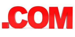 Domínio. COM Fotos de Stock Royalty Free