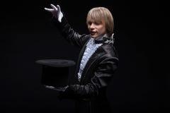 Domínio consumado do mágico Foto de Stock