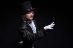 Domínio consumado do mágico Fotografia de Stock Royalty Free