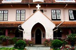 Domínio de MArie Igreja, Dalat em Veitnam. Imagens de Stock Royalty Free