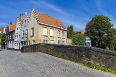Domów budynki Bruges Belgia Obraz Royalty Free
