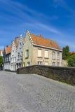 Domów budynki Bruges Belgia Zdjęcie Stock