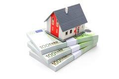 Domów finanse Zdjęcia Stock