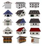 domów ilustraci wektor ilustracji