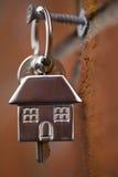 Domów klucze Obrazy Stock