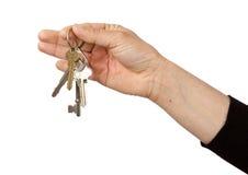 Domów klucze Obraz Stock
