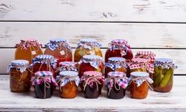 Domów konserwować foods Zdjęcia Royalty Free