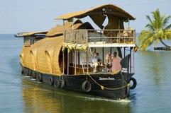 dom, łódź Zdjęcie Stock