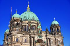 Dom берлинца, известный исторический собор Берлина Стоковые Изображения