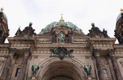 Dom берлинца - самая большая протестантская церковь в Германии стоковое фото
