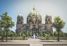 Dom берлинца собора Берлина в Берлине, Германии Стоковое Изображение