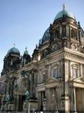 dom собора berlin alexanderplatz берлинец Стоковое Изображение RF