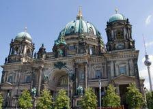 德语柏林柏林大教堂的dom 免版税库存照片