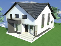 dom Obrazy Stock