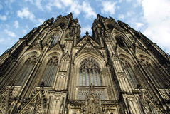 Dom. Amazing cathedral in the center of Cologne Stock Images