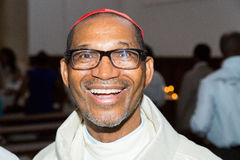 Dom Arlindo Furtado, First cardinal of Cape Verde Stock Photos