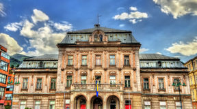 Dom Armije (Officers House) in Sarajevo Royalty Free Stock Photography