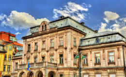 Dom Armije (Officers House) in Sarajevo Royalty Free Stock Photo