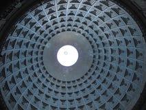 Dom av basilicaen av San Francesco di Paola i Naples Fotografering för Bildbyråer