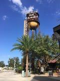 Dom błękit wieża ciśnień Obrazy Royalty Free
