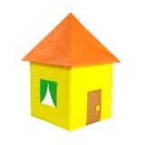 Dom barwiony papier Obraz Stock
