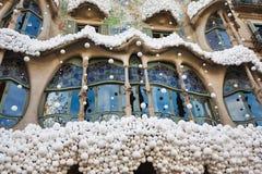 Dom Batllo, Barcelona Zdjęcie Stock