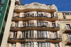 Dom Batllo, Barcelona Obrazy Stock