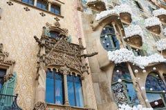 Dom Batllo, Barcelona Fotografia Royalty Free