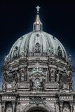 DOM berlinesi in HDR fotografie stock