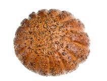 dom bochenek chleba izolacji Obrazy Royalty Free