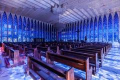 Dom Bosco Santuary Brasilia Fotografie Stock