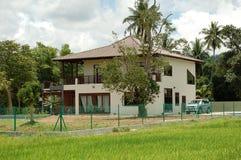 dom bungalowu Zdjęcia Stock