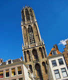 Dom cathederal in Utrecht, Holland Stock Images