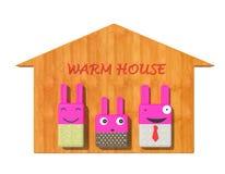 dom ciepły Obraz Royalty Free