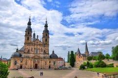 Dom de Fuldaer (catedral) en Fulda Imágenes de archivo libres de regalías