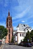 Dom de la catedral de Francfort Foto de archivo libre de regalías