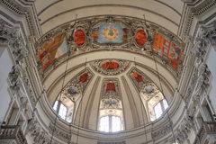 Dom de Salzburger Foto de archivo
