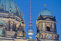 DOM del berlinese (cattedrale di Berlino) a Berlino, Germania Fotografia Stock