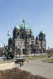 DOM del berlinese, Lustgarten - punto di riferimento fotografia stock