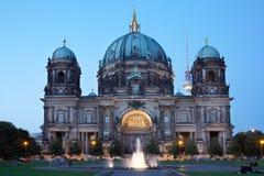 DOM della cattedrale o del berlinese di Berlino Immagine Stock