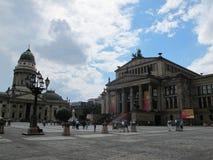 DOM di Deutscher e Konzerthaus fotografia stock