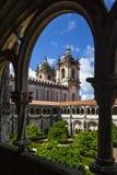 Dom Dinis przyklasztorny w Alcobaca Obraz Royalty Free