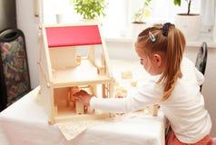 dom dla lalek grać s Obrazy Stock