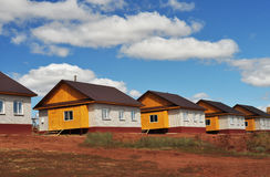 Dom dla sprzedaży, rzędów domy Zdjęcie Royalty Free