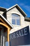 Dom Dla sprzedaży obrazy royalty free