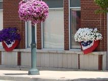 Dom do Dia da Independência da cidade pequena Imagem de Stock